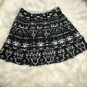 J CREW BLURRED IKAT Skirt